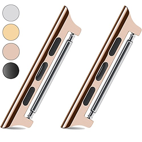 VICTHY Metal Watch Band Adapter/Clasp/Connector for All Apple Watch Models....