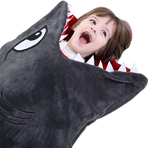 CozyBomB Shark Tails Animal Blanket for Kids - Cozy Smooth One Piece Design...