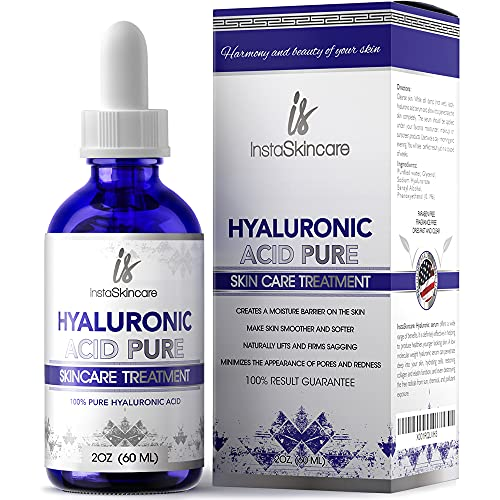 Hyaluronic Acid for Face - 100% Pure Medical Quality Clinical Strength...