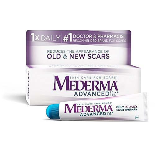Mederma Advanced Scar Gel - 1x Daily: Use less, save more - Reduces the...