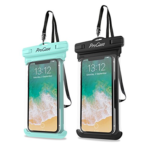 ProCase Universal Waterproof Case Cellphone Dry Bag Pouch for iPhone 12 Pro...