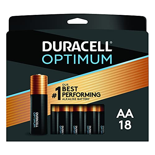 Duracell Optimum AA Batteries | 18 Count Pack | Lasting Power Double A...