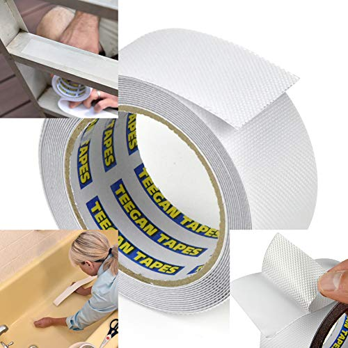 Anti Slip Tape | Waterproof | Clear Non-Slip Friction Tape | Home,...