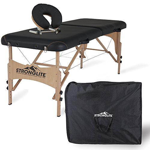 STRONGLITE Portable Massage Table Package Shasta - All-In-One Treatment...