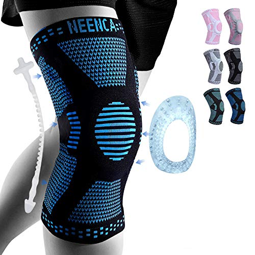 NEENCA Professional Knee Brace,Knee Compression Sleeve Support for Men...