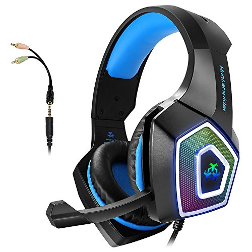 Gaming Headset with Mic for Xbox One PS4 PS5 PC Switch Tablet Smartphone,...