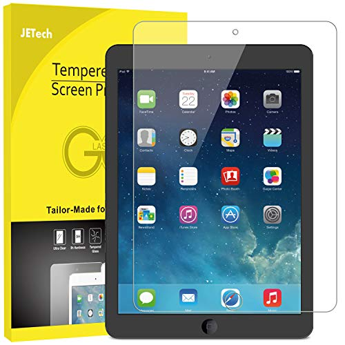 JETech Screen Protector for iPad (9.7-Inch, 2018/2017 Model, 6th/5th...