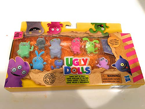 Ugly Dolls Multi Pack with Surprise Inside - Super Soft & Fuzzy