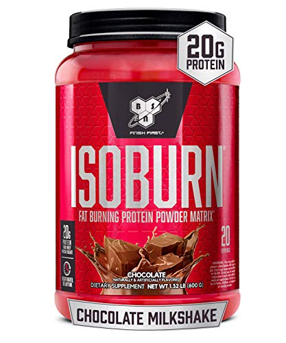 BSN ISOBURN, Lean Whey Protein Powder, Fat Burner for Weight Loss with...