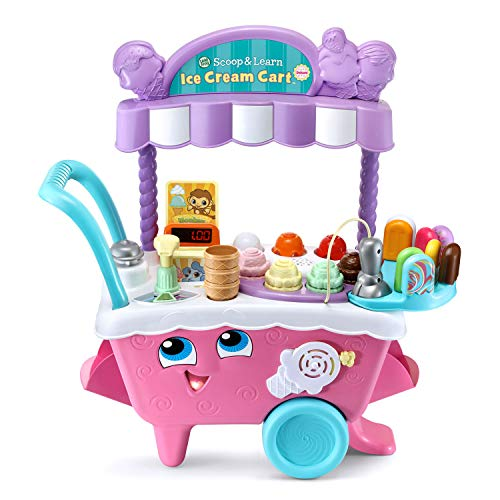 LeapFrog Scoop and Learn Ice Cream Cart Deluxe (Frustration Free Packaging)...