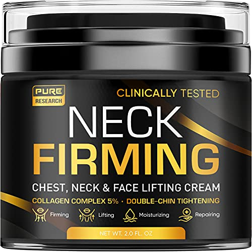 Neck Firming Cream - Anti Wrinkle Cream - Made in USA - Saggy Neck...