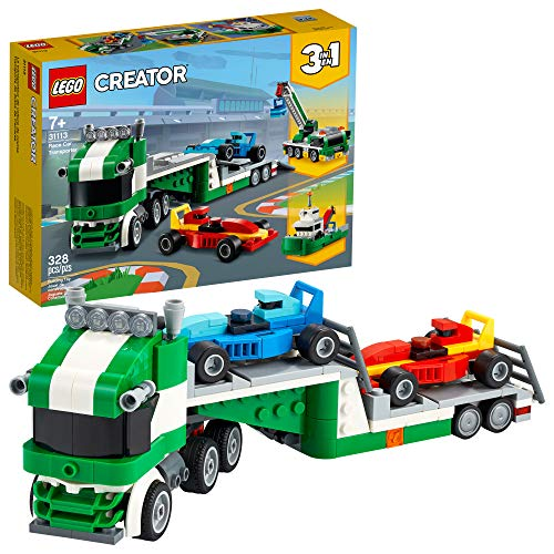 LEGO Creator 3in1 Race Car Transporter 31113 Building Kit; Makes a Great...