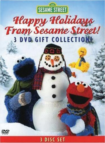 Sesame Street Holiday 3-DVD Gift Collection (Elmo's World: Happy Holidays!...