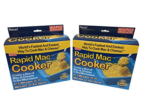 Rapid Mac Cooker | Microwave Macaroni & Cheese in 5 Minutes | Perfect for...