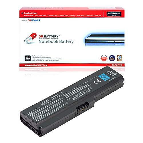 DR. BATTERY PA3817U-1BRS Battery Compatible with Toshiba Satellite C670...