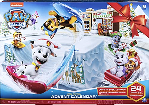 Paw Patrol - 2019 Advent Calendar Release - Includes 24 Gifts to Explore -...