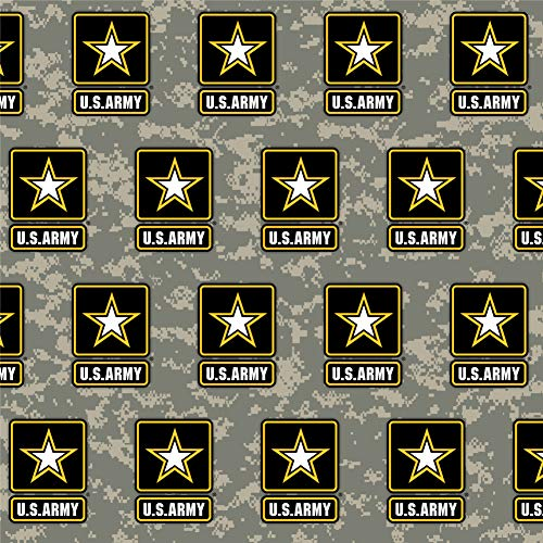 GRAPHICS & MORE U.S. Army Logo on Camo Premium Roll Gift Wrap Wrapping...