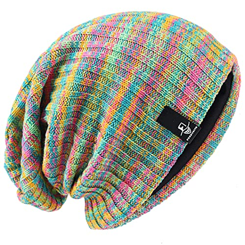 Ruphedy Men's Oversized Slouchy Beanie Skull Cap Long Baggy Knit Hat for...