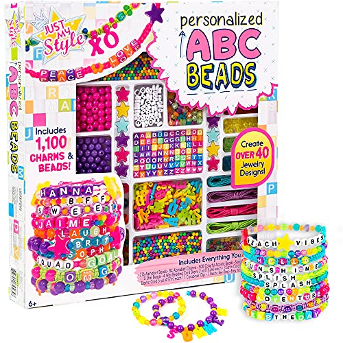 Just My Style ABC Beads by Horizon Group Usa, 1000+ Charms & Beads,...
