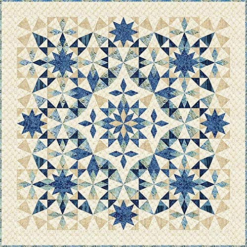 Laundry Basket Quilts Traditional Quilt Pattern - Alaska (71.5' x 71.5')
