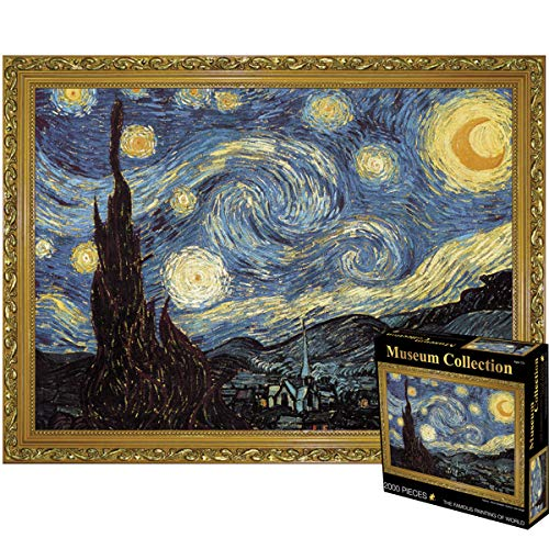 2000 Pieces Jigsaw Puzzles Large Puzzle Game Artwork for Adults Teens -...
