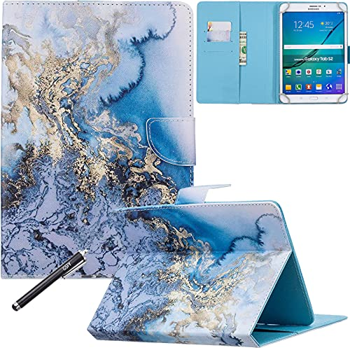 Universal Case for 6.5-7.5'' Tablet, Newshine Colorful Wallet Stand Cover...