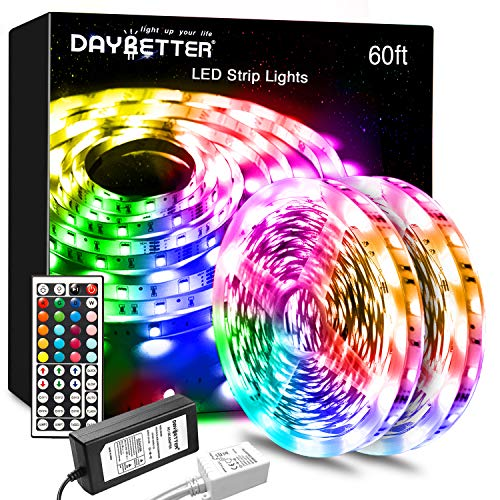 DAYBETTER Led Lights Color Changing Led Strip Lights with Remote Controller...
