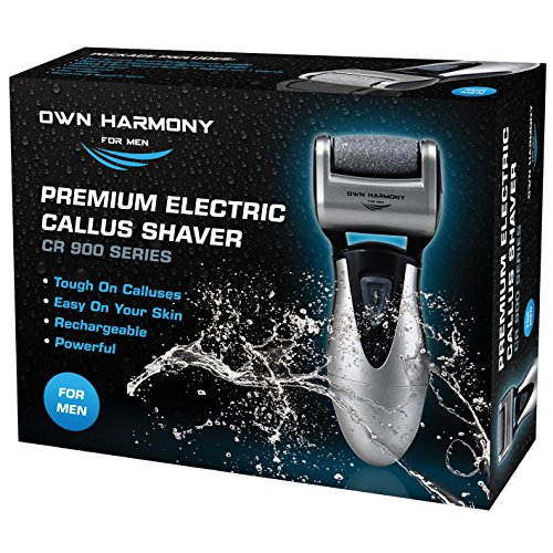 Electric Foot Callus Remover, Feet Scrubber: Own Harmony Rechargeable Mens...