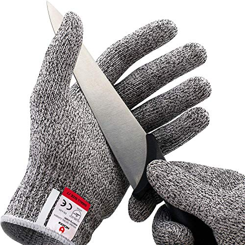NoCry Cut Resistant Gloves - Ambidextrous, Food Grade, High Performance...