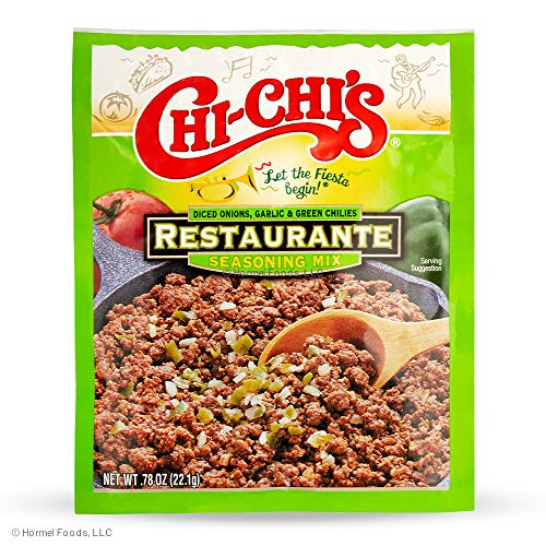 Chi Chi's Restaurante Seasoning Mix, 0.78 Oz Packages (Pack Of 24)