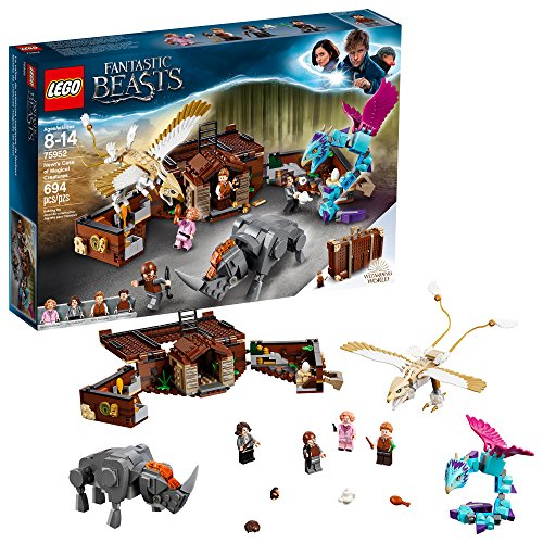 LEGO Fantastic Beasts Newt's Case of Magical Creatures 75952 Building Kit...
