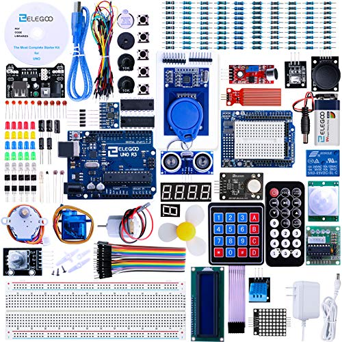 ELEGOO UNO R3 Project Most Complete Starter Kit w/Tutorial Compatible with...