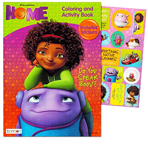 DreamWorks Home Do You Speak Boov? Coloring and Activity Book - Includes...