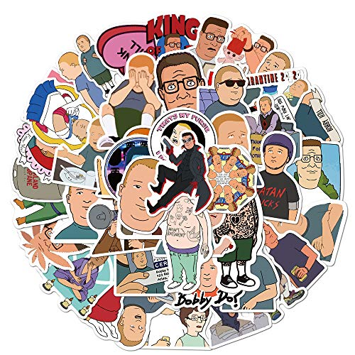 King of The Hill Stickers for Hydro Flask,   50 PCS   Vinyl Waterproof...