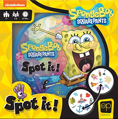 USAOPOLY Spot It! SpongeBob SquarePants | Fun Card Game for Kids and Adults...