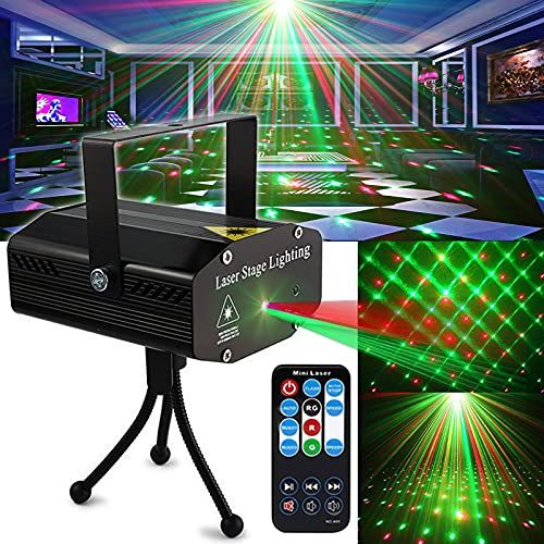 Party Light DJ Disco Lights TONGK Stage Lighting Projector Sound Activated...
