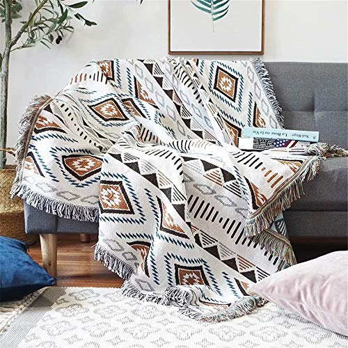 Homesy Soft Southwest Throw Blankets Double Sided Aztec Southwest Throws...