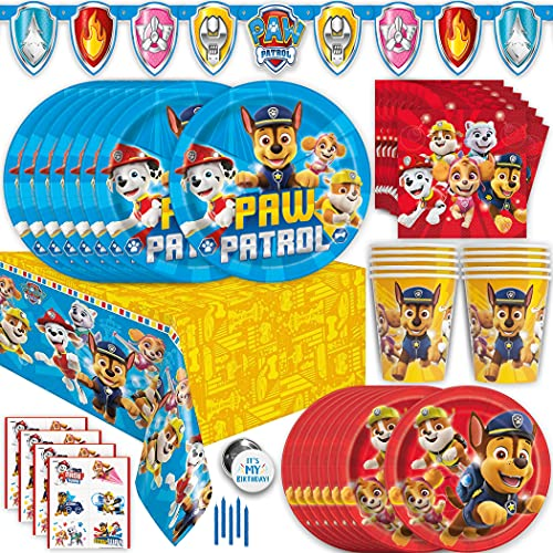 Paw Patrol Party Supplies and Decorations, Paw Patrol Birthday Party...