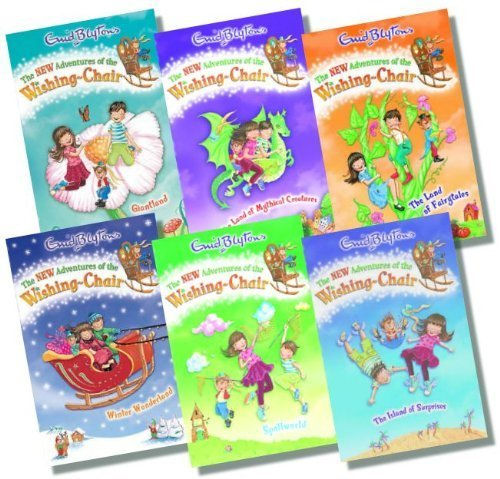 The New Adventures of the Wishing Chair Collection, 6 books, RRP £29.94...
