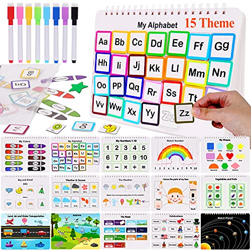 HAN-MM Preschool Montessori Toys with 8 Color Marker Toddler Toys for Kids...