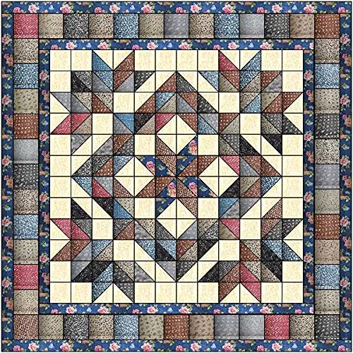 Quilt Kit Country Chic Beautiful Vintage Fabrics
