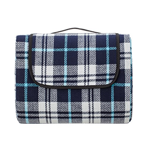 Extra Large Picnic & Outdoor Blanket with Waterproof Backing 90' x 80'...