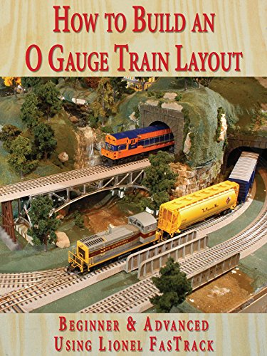 How to Build An O Gauge Train Layout Beginner & Advanced - Using Lionel...