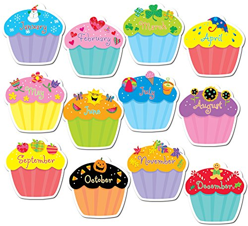 Creative Teaching Press Cupcake Accents for Bulletin Boards & Classrooms,...