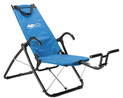 The Ab Lounge 2 Abdominal Exerciser Is Like An Easy Chair You Can Perform Up To Eight Workouts With This Equipment Neck And Back Strains Are
