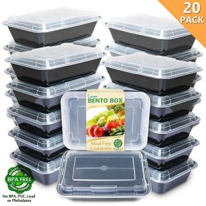 Enther Meal Prep Containers [20 Pack]