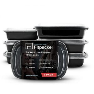 Fitpacker Meal Prep Containers [16 Pack]