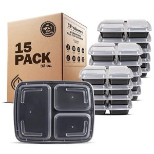 Freshware Meal Prep Containers [15 Pack]