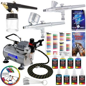3 airbrush professional master airbrush multi-purpose